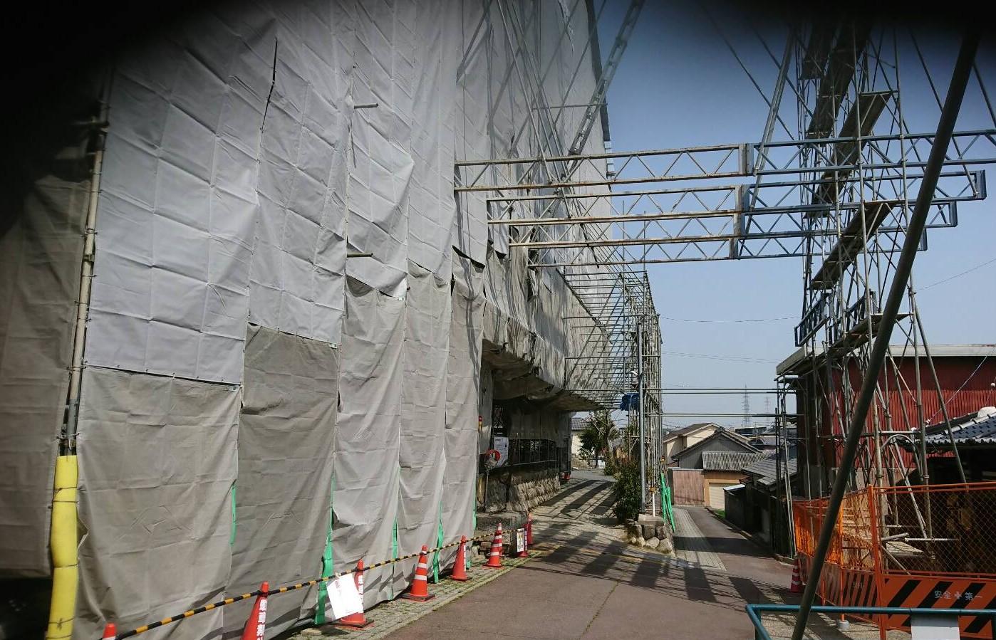 三重県四日市市 西光寺 工事